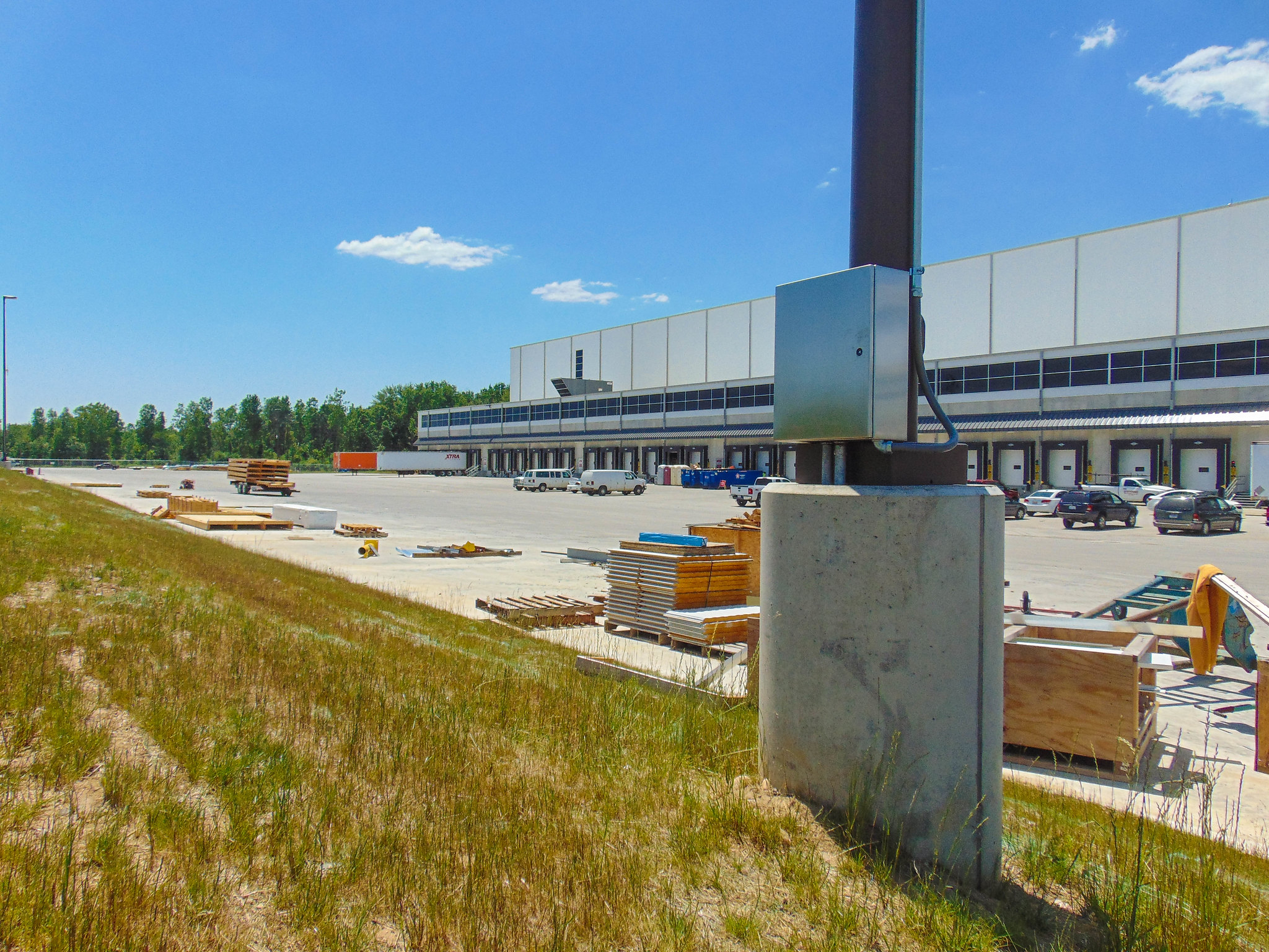 Meijer Precast Light Pole Bases for site lighting