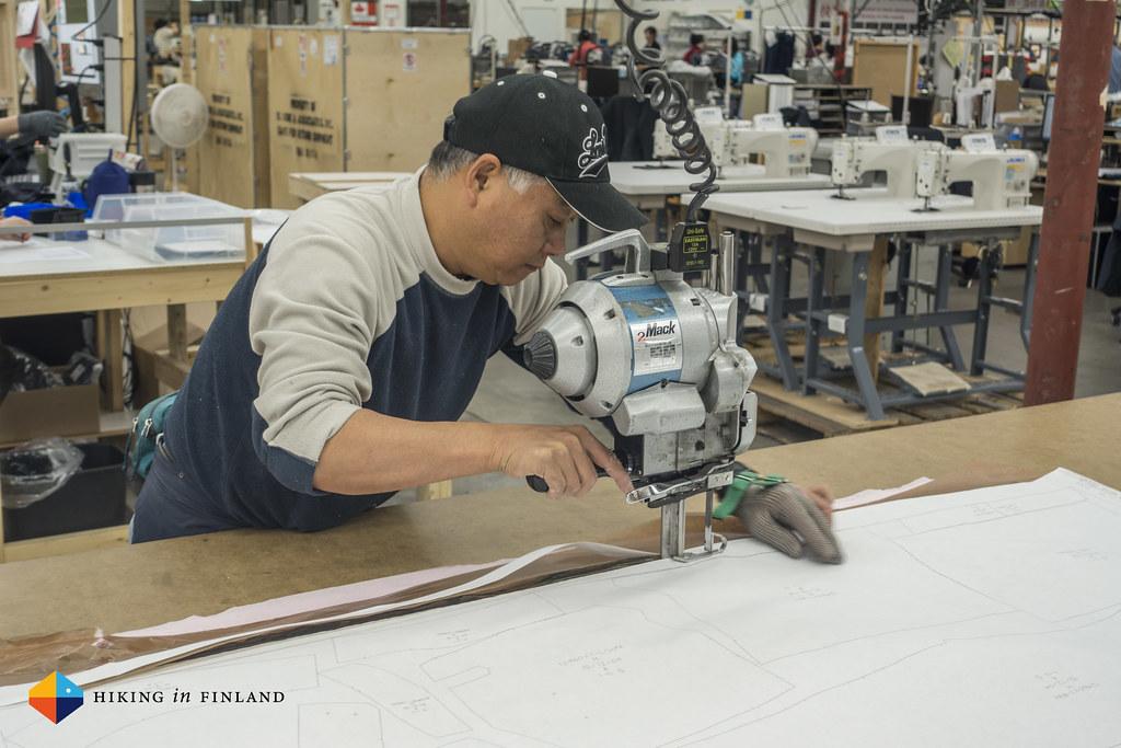 Hand-cutting