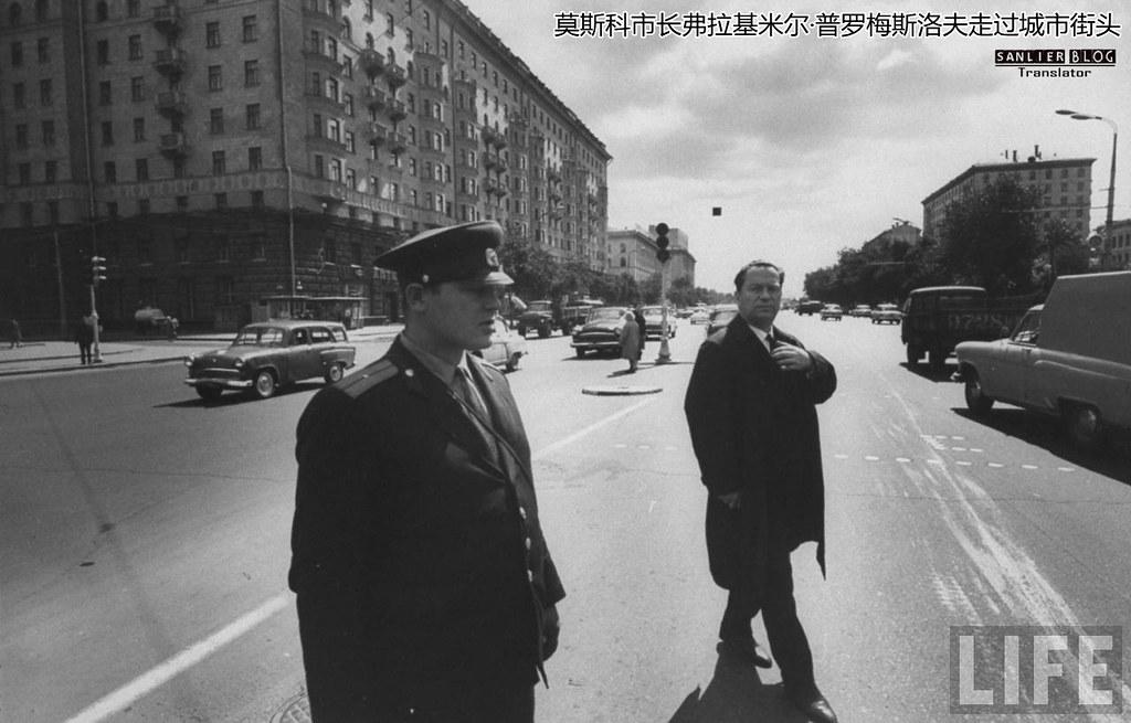 1960年代两位苏联高级干部10