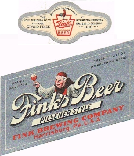Finks-Beer--Labels-Fink-Brewing-Company-pils