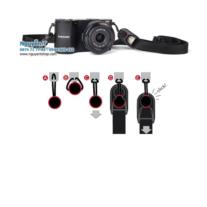 Dây đeo máy ảnh Leash kiểu Peak design