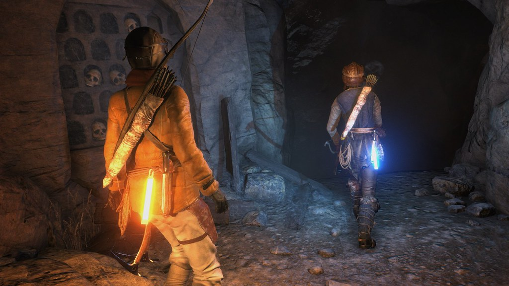 Rise of the Tomb Raider anncio para PS4