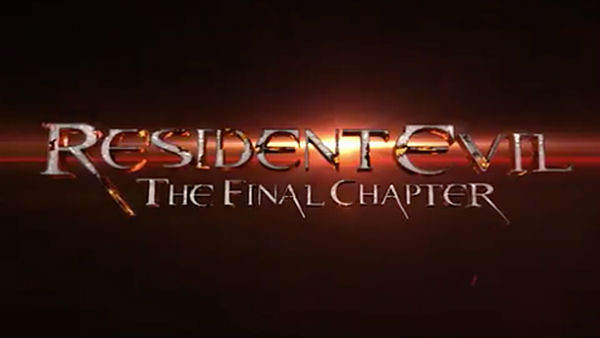 Resident Evil: The Final Chapter trailer released