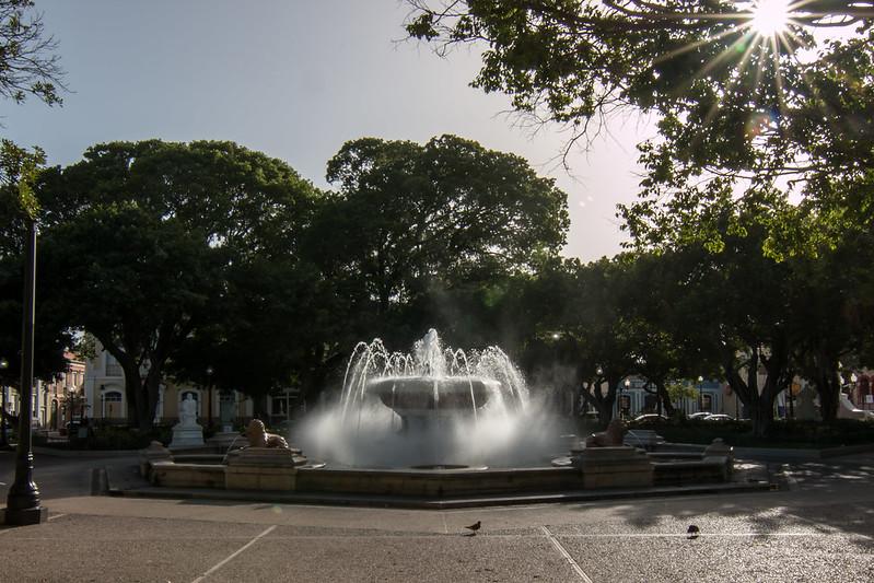 Fontaine des Lions - Ponce - [Puerto Rico]