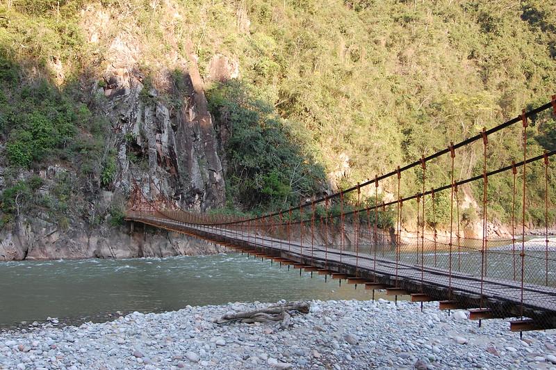Puente Colgante Kimiri, near La Merced, Chanchamauyo, Junín, Peru