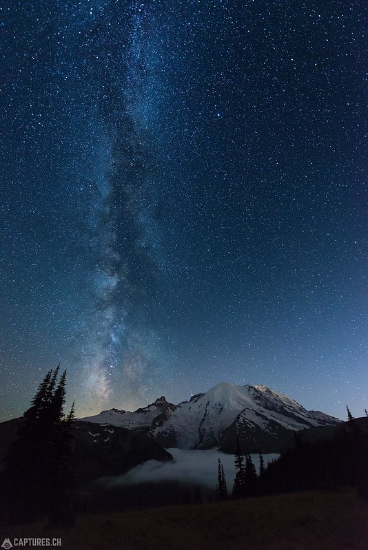 Stairway to heaven - Mount Rainier National Park