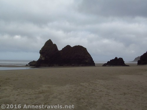 Lion Rock at Arcadia Beach, Oregon