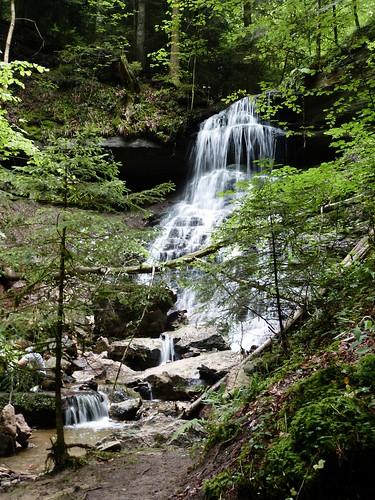 Uper Hörschbach waterfall