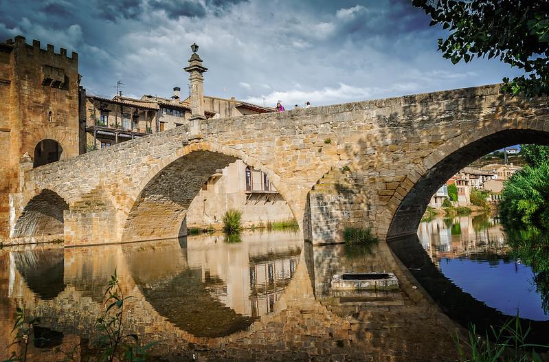 Puente piedra Valderrobres