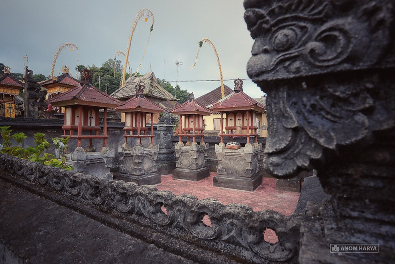 Sanggah, small temple in each Hindu & Balinese house