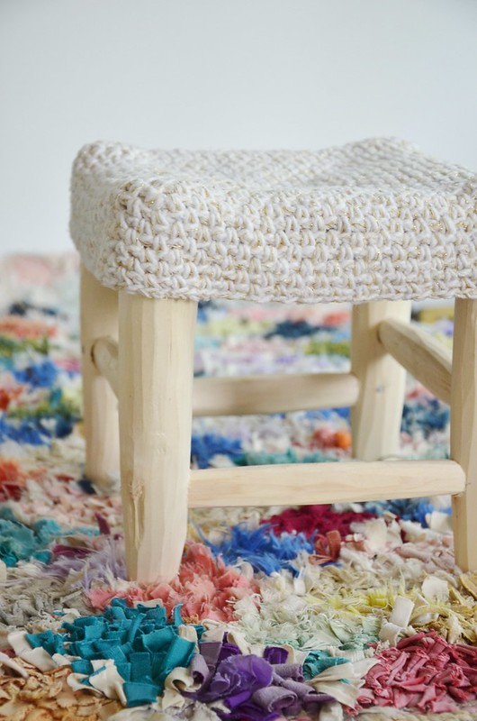 wood & wool xs stool