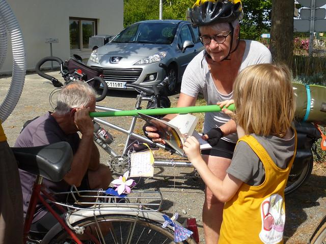 La Bave, Brigade poétique à Vélo