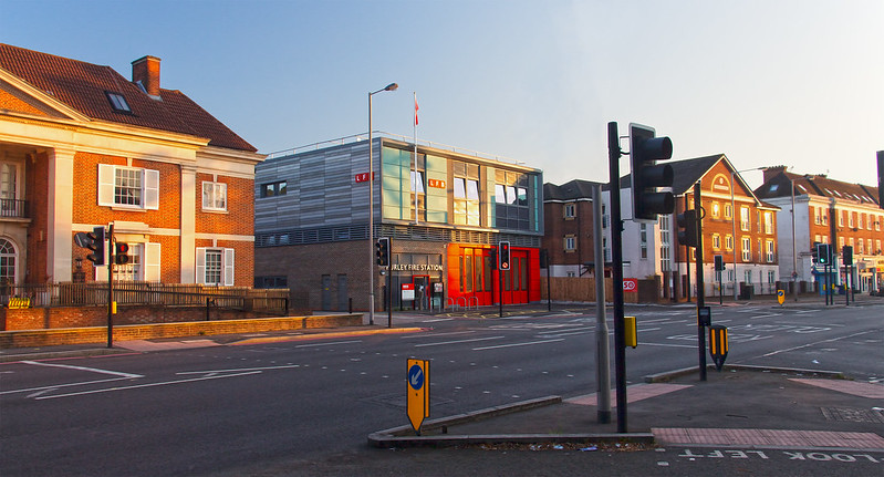 Purley Fire Station July 2016