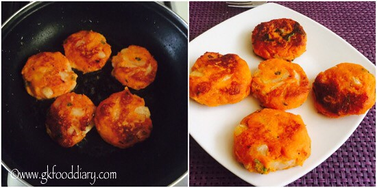 Sweet Potato Cutlet Recipe for Toddlers and Kids - step 4