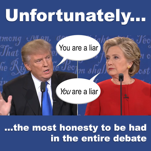 Unfortunately...the debate