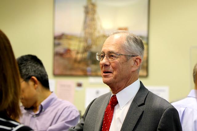 Retirement celebration for Physics Professor P. Craig Taylor