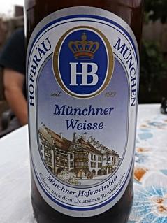 Hofbräu München, Münchner Weisse, Germany