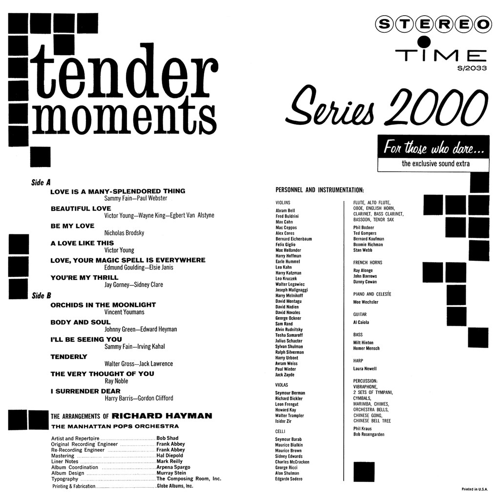 Richard Hayman - Tender Moments