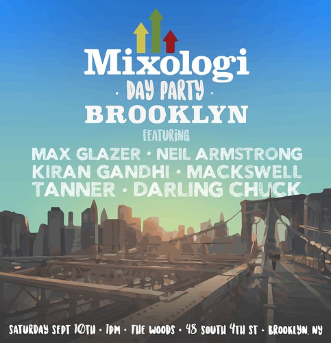Sept 10th Mixologi Day Party at the woods