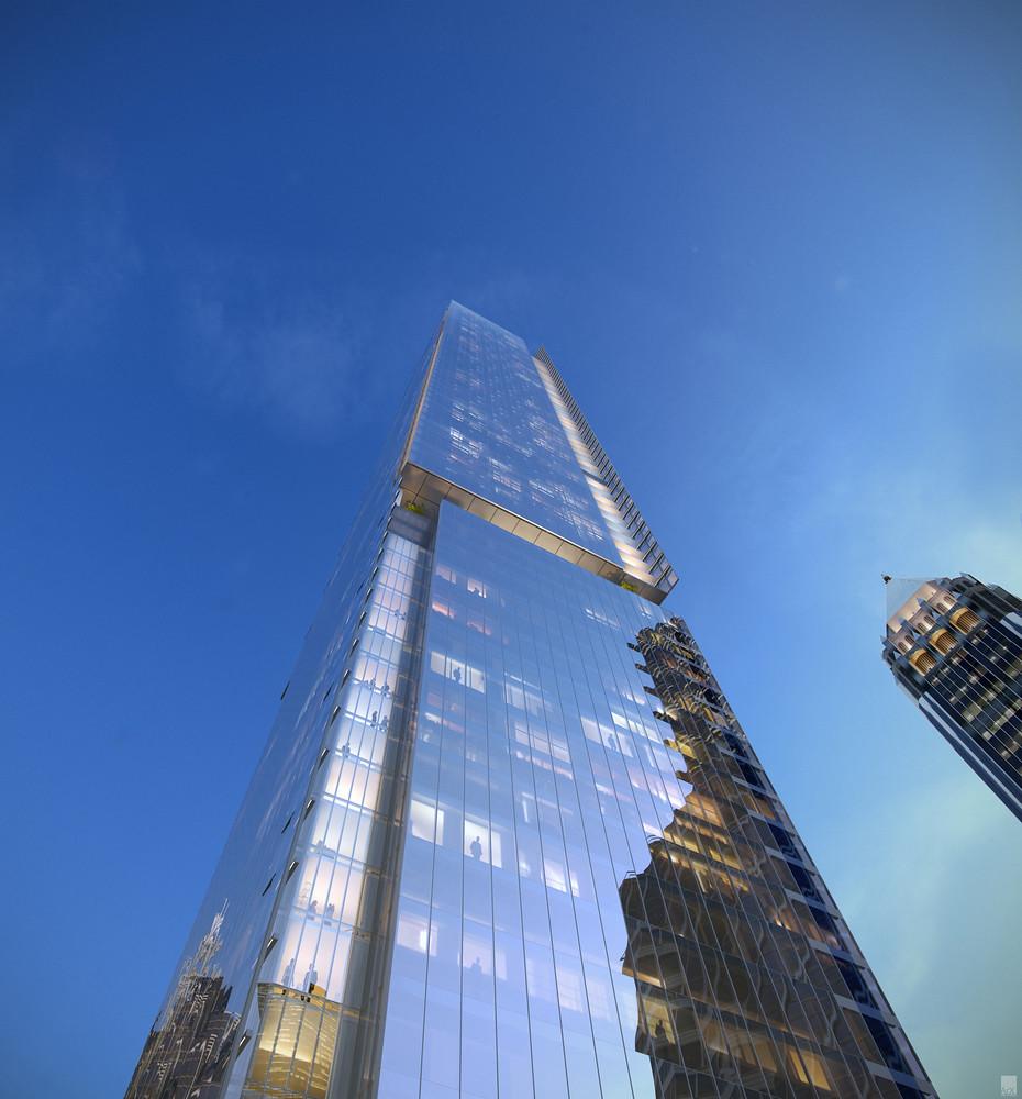 Второй по высоте небоскреб Атланты. Проект Perkins + Will