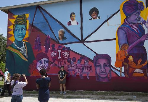 Martinez Street Women's Center 51st Mural Unvieling