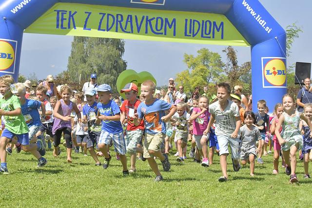 Otroški tek z Zdravkom Lidlom, 28. avg. 2016
