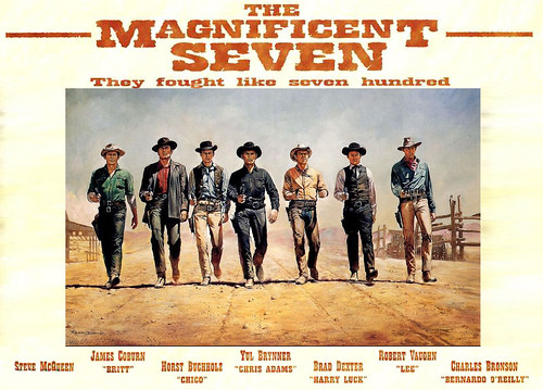 The Magnificent Seven - 1960 - Poster 7
