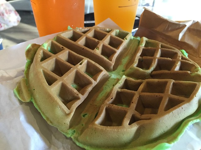Yet another pandan waffle quest