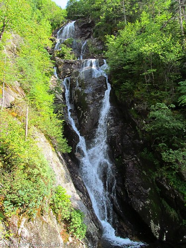 Waterfall in The Gorge, White Mountains National Forest, New Hampshire