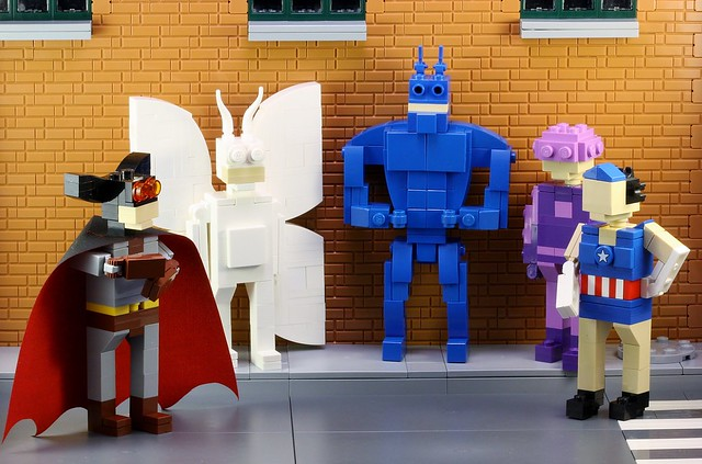 The Tick Miniland Heroes