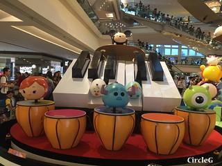 CIRCLEG 九龍塘 又一城 DISNEY TSUM TSUM 壽司 「Disney Tsum Tsum Walk N Roll Festival (17)