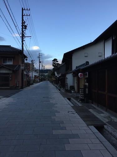 上田 旧北国街道 柳町