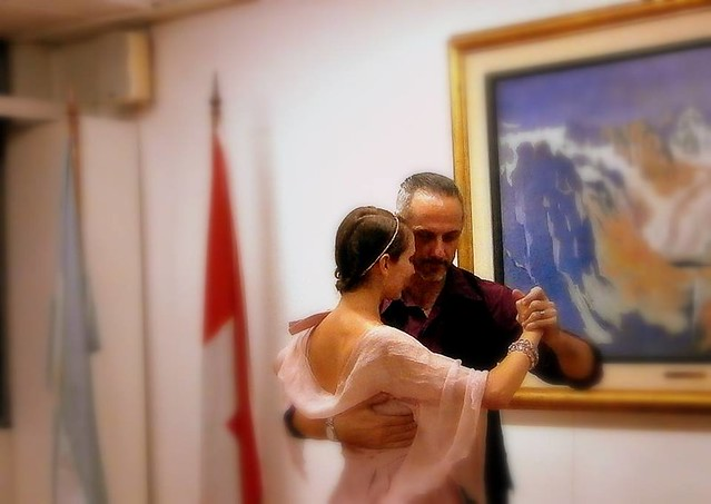 Tango events at the Swiss-Argentine Chamber of Commerce