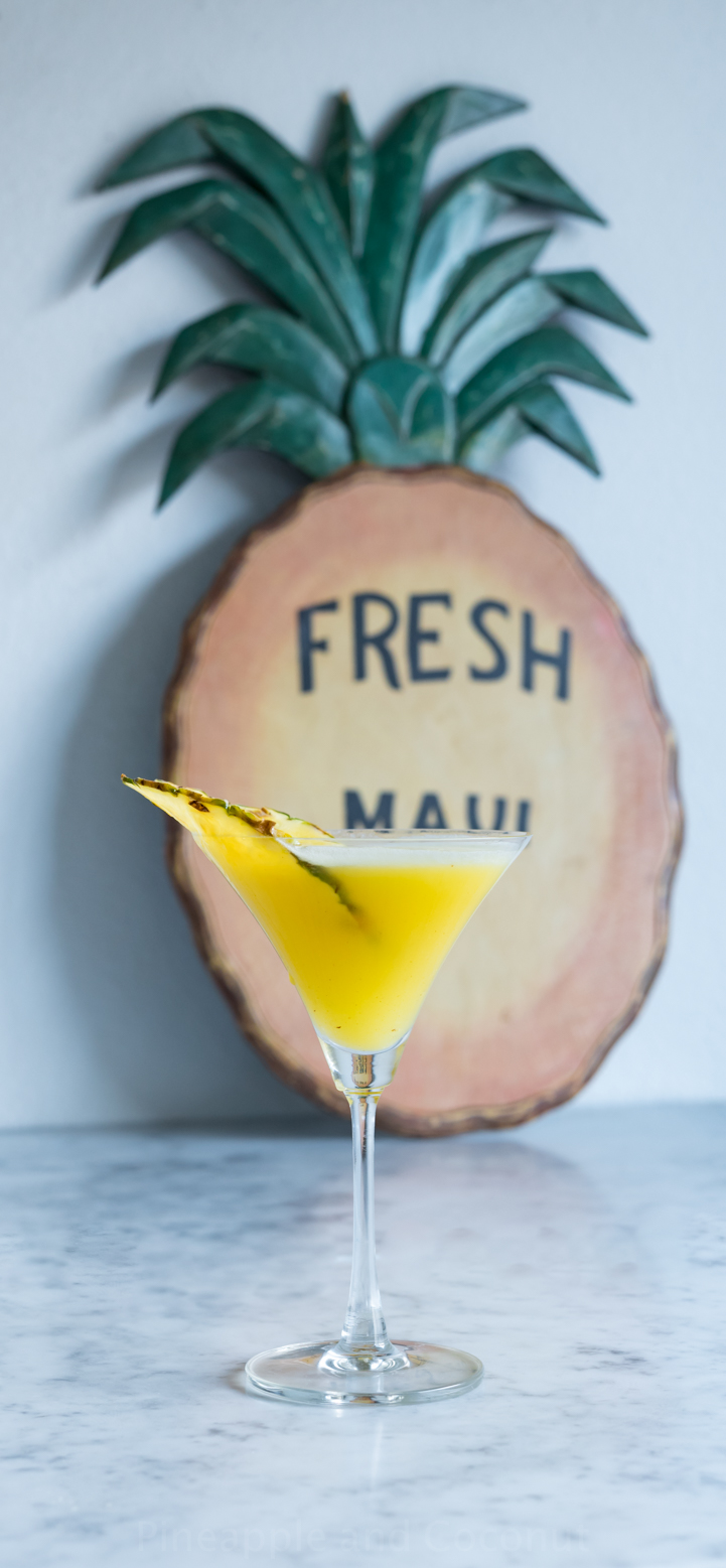Aloha Friday Martini ( Pineapple Coconut Martini) www.pineappleandcoconut.com