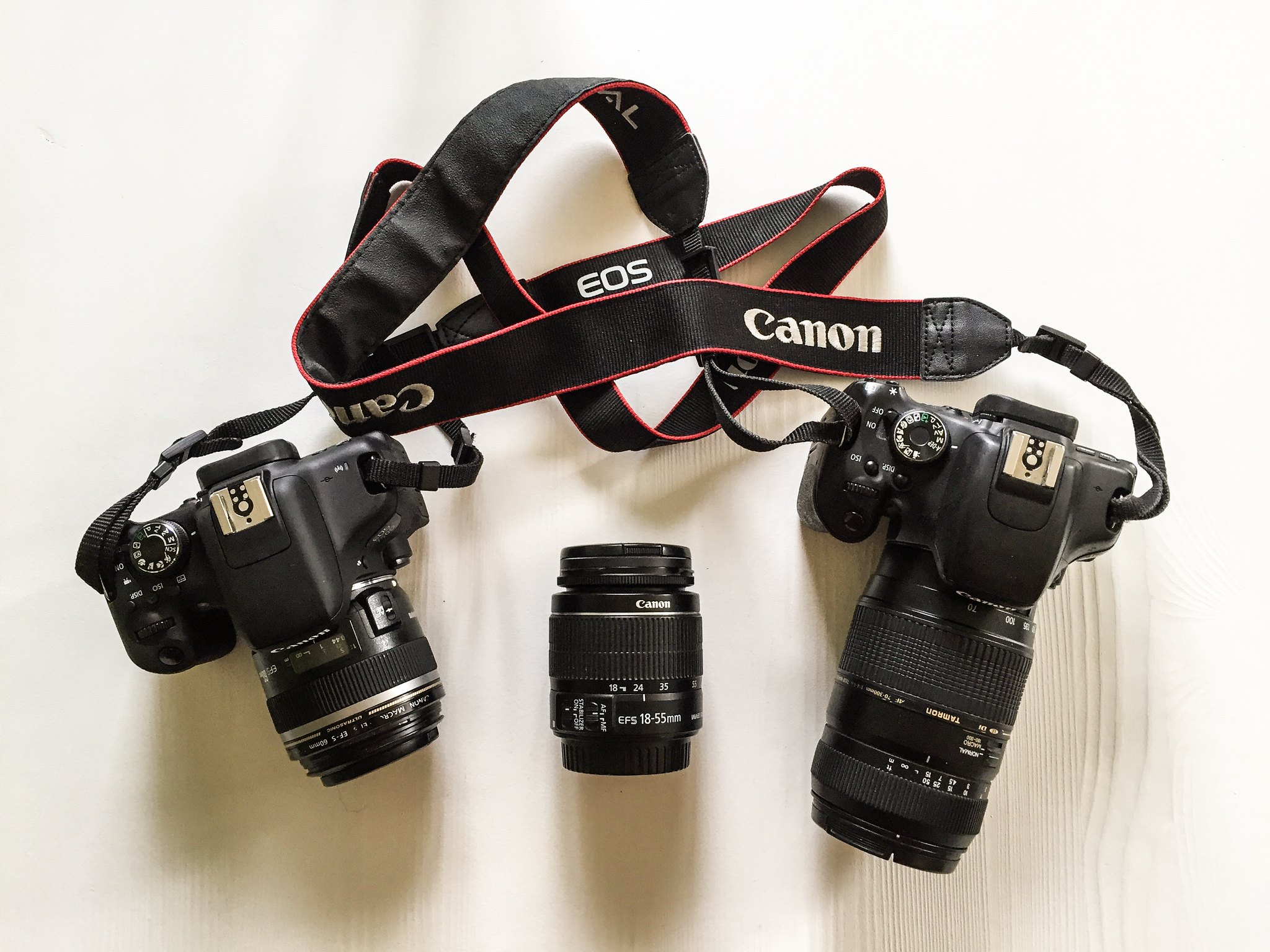 Kamerautrustning Canon EOS