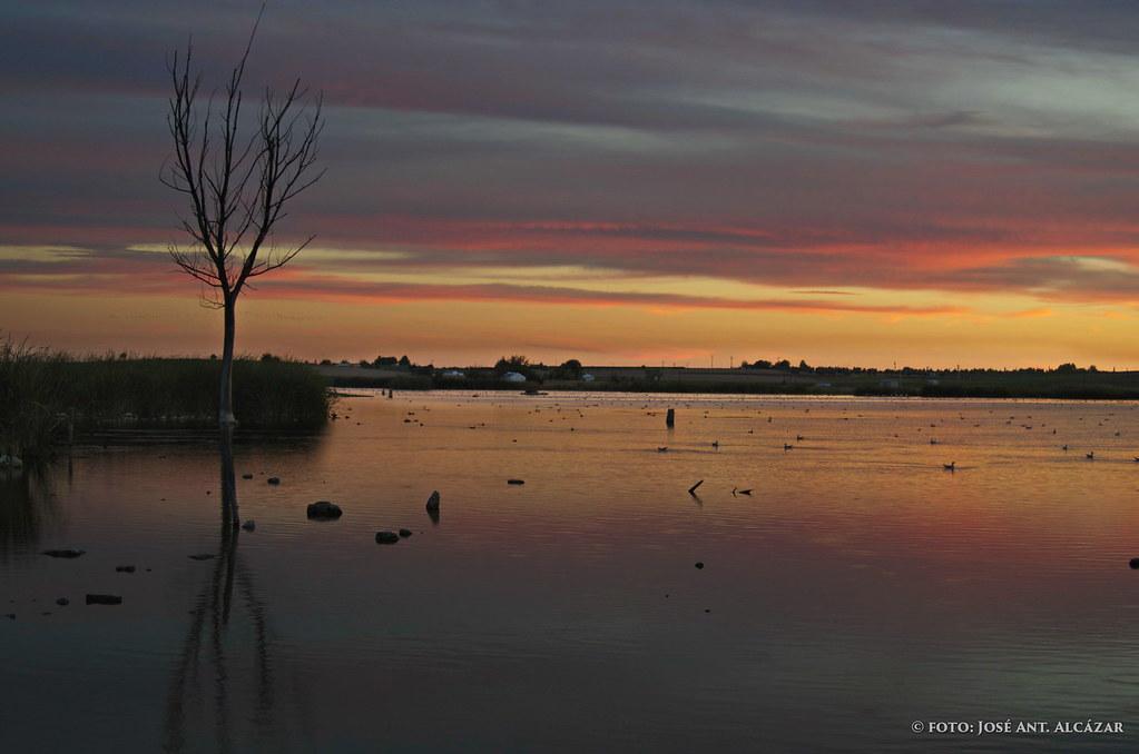 Crepúsculo en Navaseca