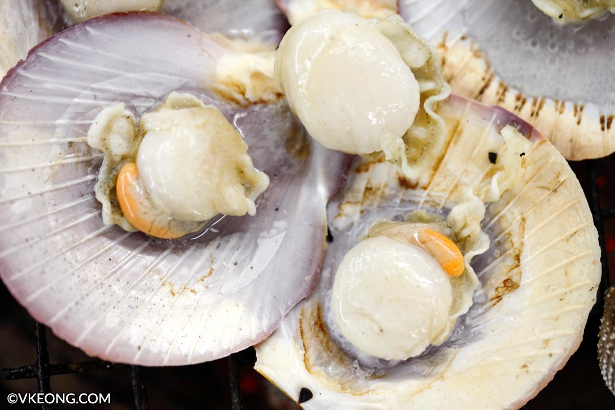 Mangkorn Seafood Scallops