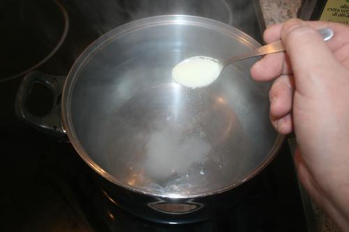 21 - Wasser salzen / Salt water