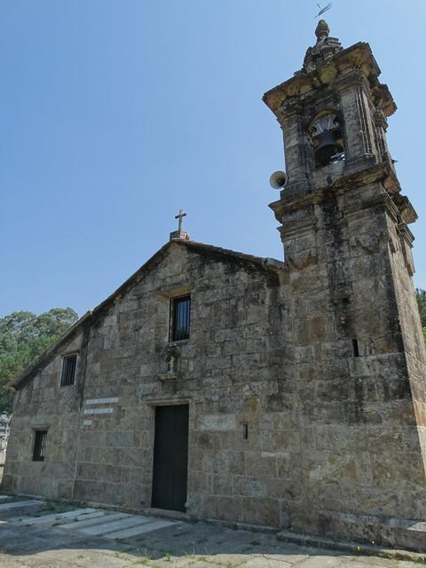 Iglesia de San Adrián de Toba de Cee