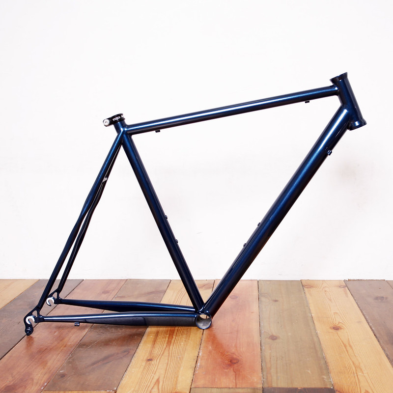 Handmade Road Frame Painted by Swamp Things