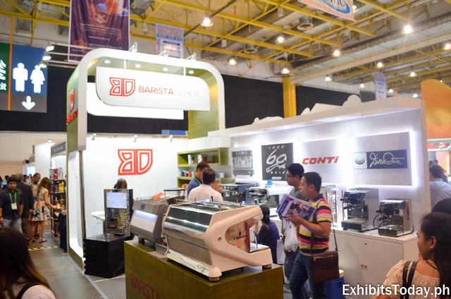Barista Depot Exhibit Booth