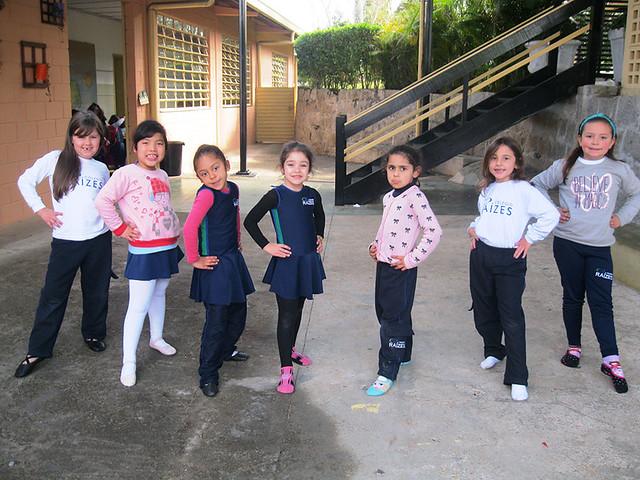 Aula de jiu-jítsu e dança - unidade da serra 2016