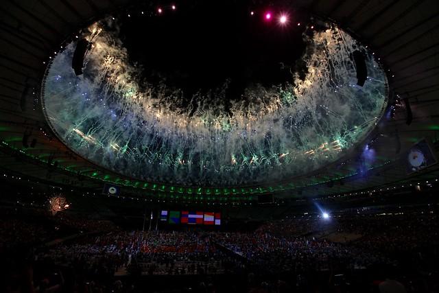 Closing ceremony Paralympics Rio 2016