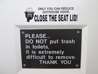 Close the Seat Lid!