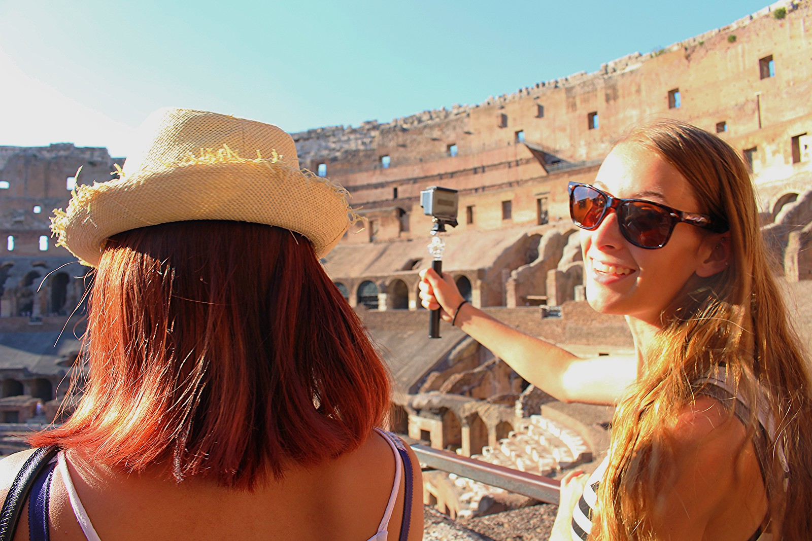Exploring the Colosseum