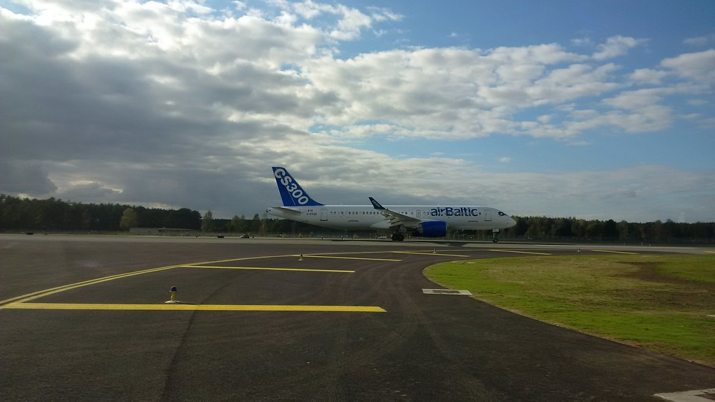 Európában folytatódik a Bombardier CS300-as tesztelése