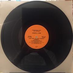 CHERYL LYNN:EVERY TIME I TRY TO SAY GOODBYE(RECORD SIDE-B)