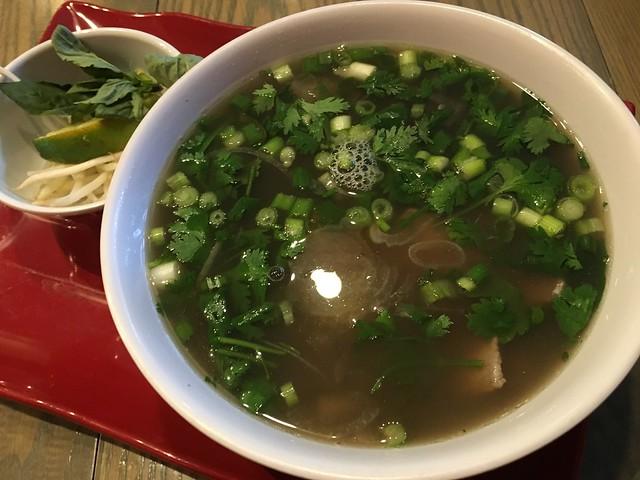 Beef pho - Mekong Kitchen