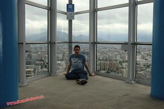 CIMG1334 En la Torre de Fukuoka  (Fukuoka) 14-07-2010