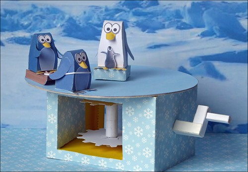 Sledging Penguins R
